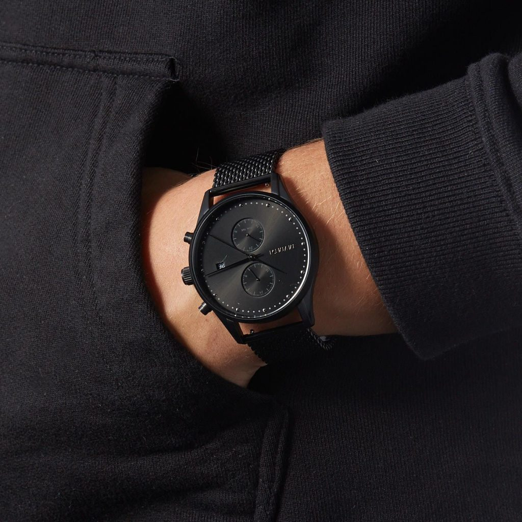 Black Analog Watch from MVMT