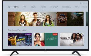 Mi 4x smart tv