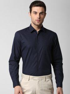 branded formal shirts for men Peter England