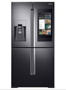 smart kitchen appliances Samsung Family Hub Refrigerator