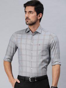 branded formal shirts for men Tommy Hilfiger