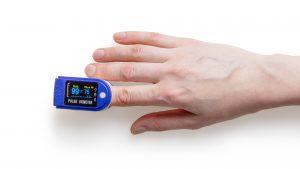 Blood oxygen checking smartwatch feature